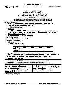 Giáo án Công nghệ 11 - Trường THPT Trần Phú M